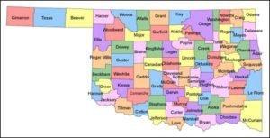Oklahoma County PowerPoint Map