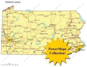 Pennsylvania Maps