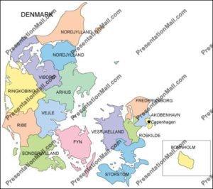 Denmark Map