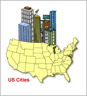USA Map and State County Maps PLUS United States City County List ...