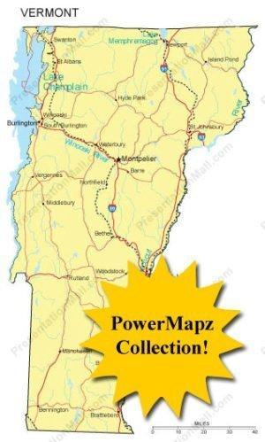 Vermont Maps